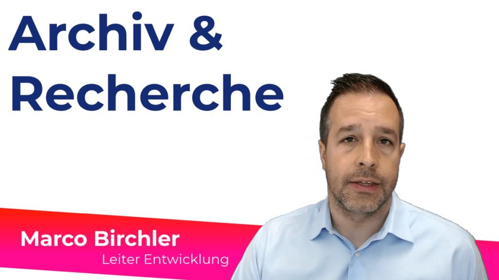 Vorschaubild aus Video mit Marco Birchler