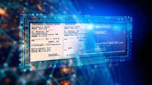 Digitalisierung eines Einzahlungsscheins
